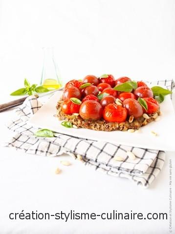 Tatin aux tomates cerises - Ma Vie sans gluten