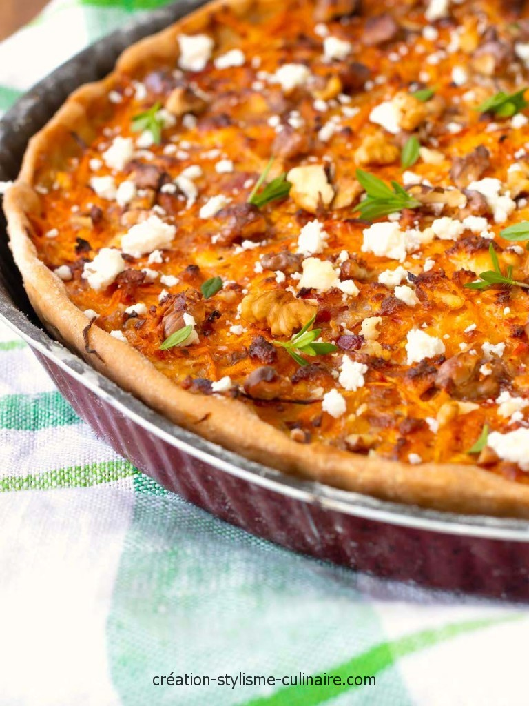 tarte patate douce noix-4